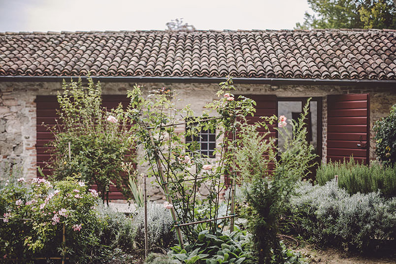 A modern vintage wedding in Italy: the location