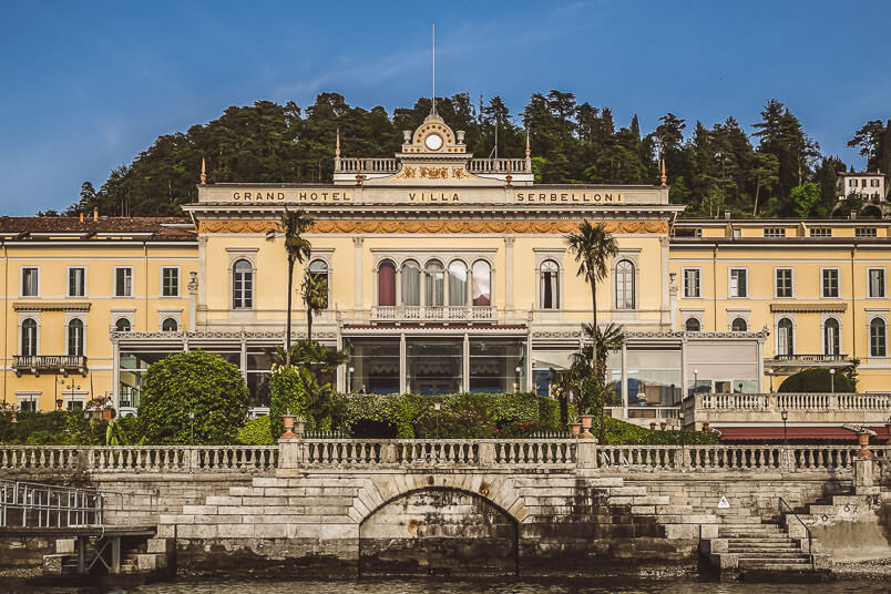 Villa Serbelloni from the Lake