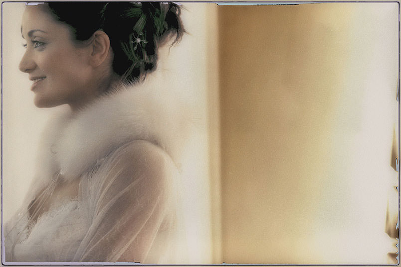 Fairy Tale Wedding Style: the bride at her wedding.