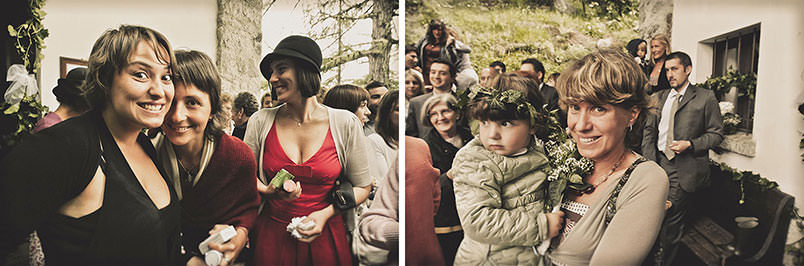Boho weddings: scenes with guests