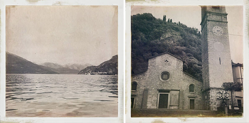 Lake Como: elopement shooting. The location.