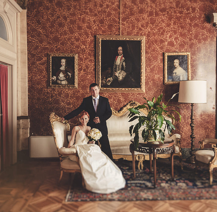 Lake Como Wedding // Elena + Pavel