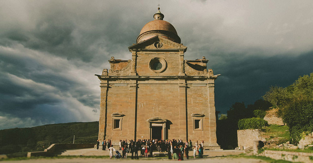 Tuscany: a wedding