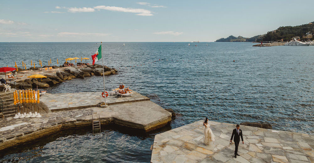 Wedding at Santa Margherita Ligure, Italy