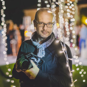 Luca Rajna, Lake Como and Venice wedding photographer. A portrait of the artist.